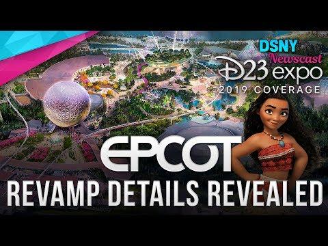 D23 Expo 2019 | EPCOT REVAMP Details Revealed - Disney News - 8/23/19