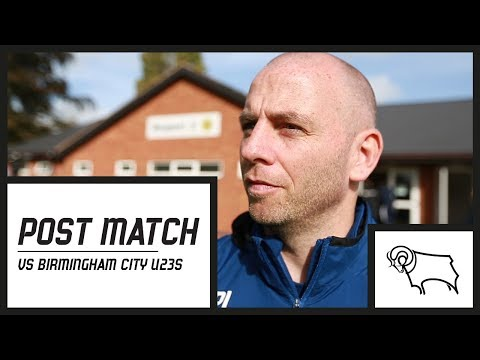 POST MATCH | Pat Lyons Post Birmingham City U23s (A): 29_09_17