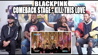 Comeback Stage Blackpink -  Kill This Love 블랙핑크 Reaction/Review