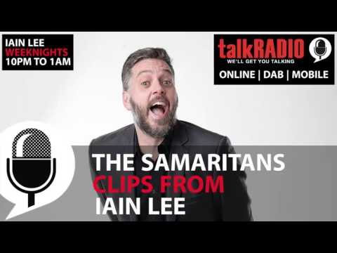 Iain Lee talkRADIO - Samaritans
