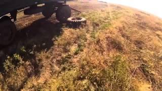 Видео с нашлемной камеры солдата АТО под обстрелом
