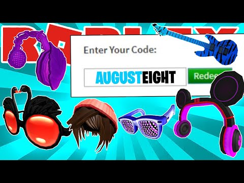 LIST OF ALL WORKING PROMO CODES AND FREE ITEMS IN ROBLOX! (AUGUST 2020)