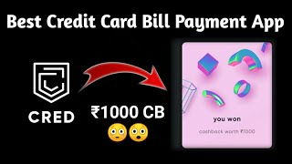 🎉Best Credit Card Bill Payment App - Cred App Full Tutorial & Review   Cred App Good or Bad??