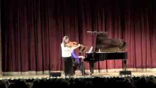 Esra Pehlivanli & Anastasia Safonova / M. Glinka Sonata  for Viola & Piano (excerpts)