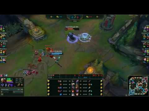 You do nothing but farm when your team carry you in League of legends