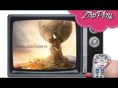 ZapPlay / Civilization 6 / Feat Pixel et Mic / (FR/PC)