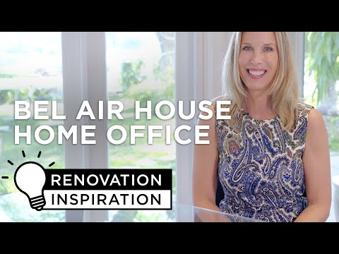 Modern Home Office Tips and Ideas - Renovation Inspiration Episode 3