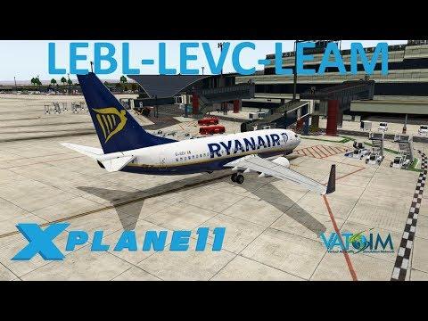 X-Plane 11 | Members Only July Stream!! | B737 | VATSIM | Barcelona, Valencia & Almeria!!
