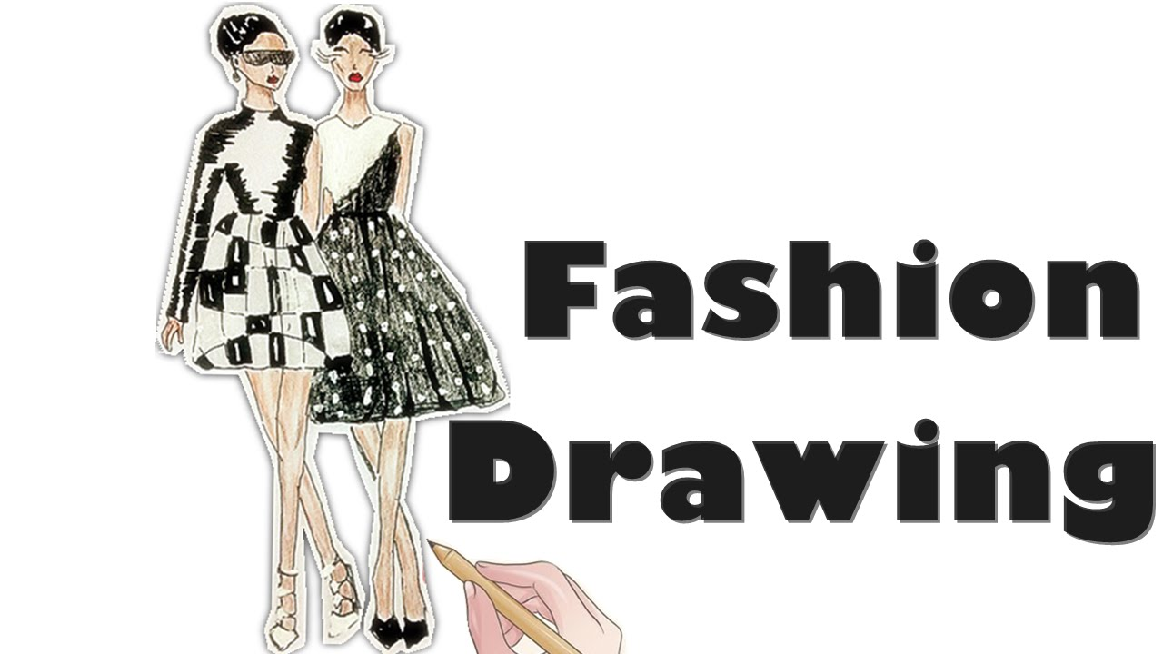 tutorial fashion illustrations figure step by step