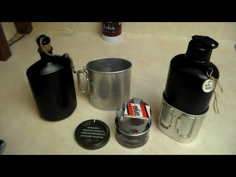The M32 and M84 Swiss Army Canteens and The Swiss M71 Stove