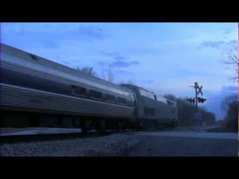 Thumbnail: Amtrak Blue Water doing 110mph!!!!!!