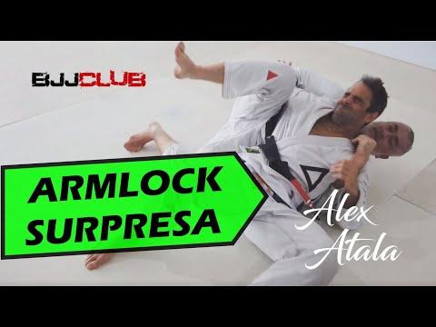 🆕 Alex Atala mostra um Armlock Surpresa partindo das Costas  🏼👉 Jiu Jitsu - BJJCLUB