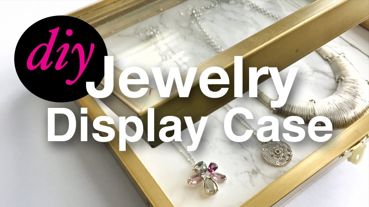 How to make a jewelry display storage case using dollar tree items how to make a jewelry display storage case using dollar tree items treshaja solutioingenieria Image collections
