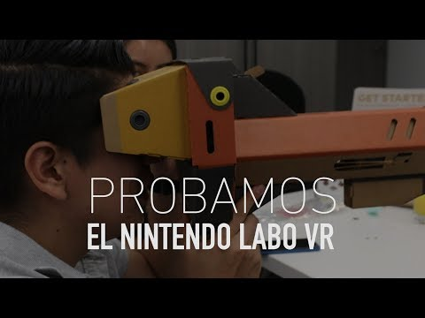 Probamos el Nintendo Labo VR