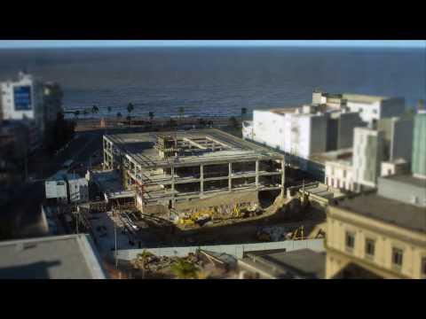 Segunda etapa: timelapse construcción nueva sede CAF en Montevideo