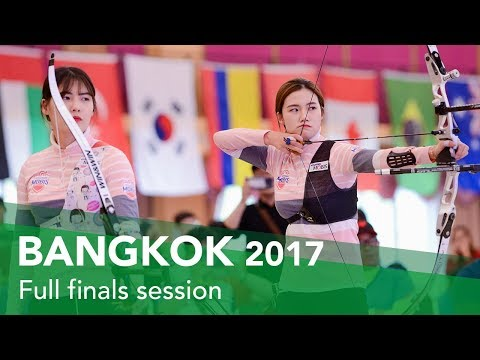 Full finals session | Bangkok 2017 Indoor Archery World Cup stage 2