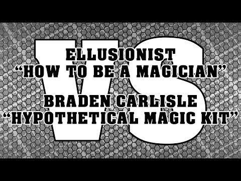 My Magic Kit Vs Ellusionist How To Be Magician Magic Kit Challenge Den Carlisle