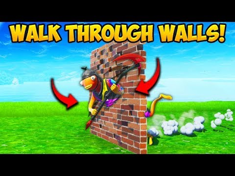 *NEW TRICK* BUILD THROUGH WALLS!! – Fortnite Funny Fails and WTF Moments! #645 thumbnail