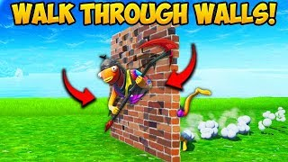 *NEW TRICK* BUILD THROUGH WALLS!! – Fortnite Funny Fails and WTF Moments! #644