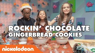 Rockin' Chocolate Gingerbread Cookie W/ Breanna Yde | Nick