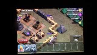 Clash of Clans- 205 Lvl 5 Barb Attack!