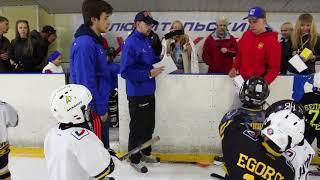 Окончание сезона | Детский хоккей | тренировка на льду 27-05-18