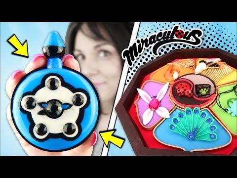 DIY New Miraculous LADYBUG   Как сделать карманные часы BUNIX из серии Timetagger