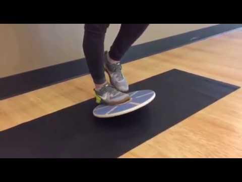 Balance Board Exercise #12: Calf Raise