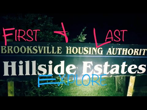 THE HOLYWALKER'S FIRST AND LAST EXPLORE AT HILLSIDE ESTATES, Last time we went to hillside with UGUE