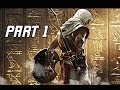 Assassin's Creed Origins Walkthrough Part 1 - Bayek of Siwa (Let's Play Commentary)