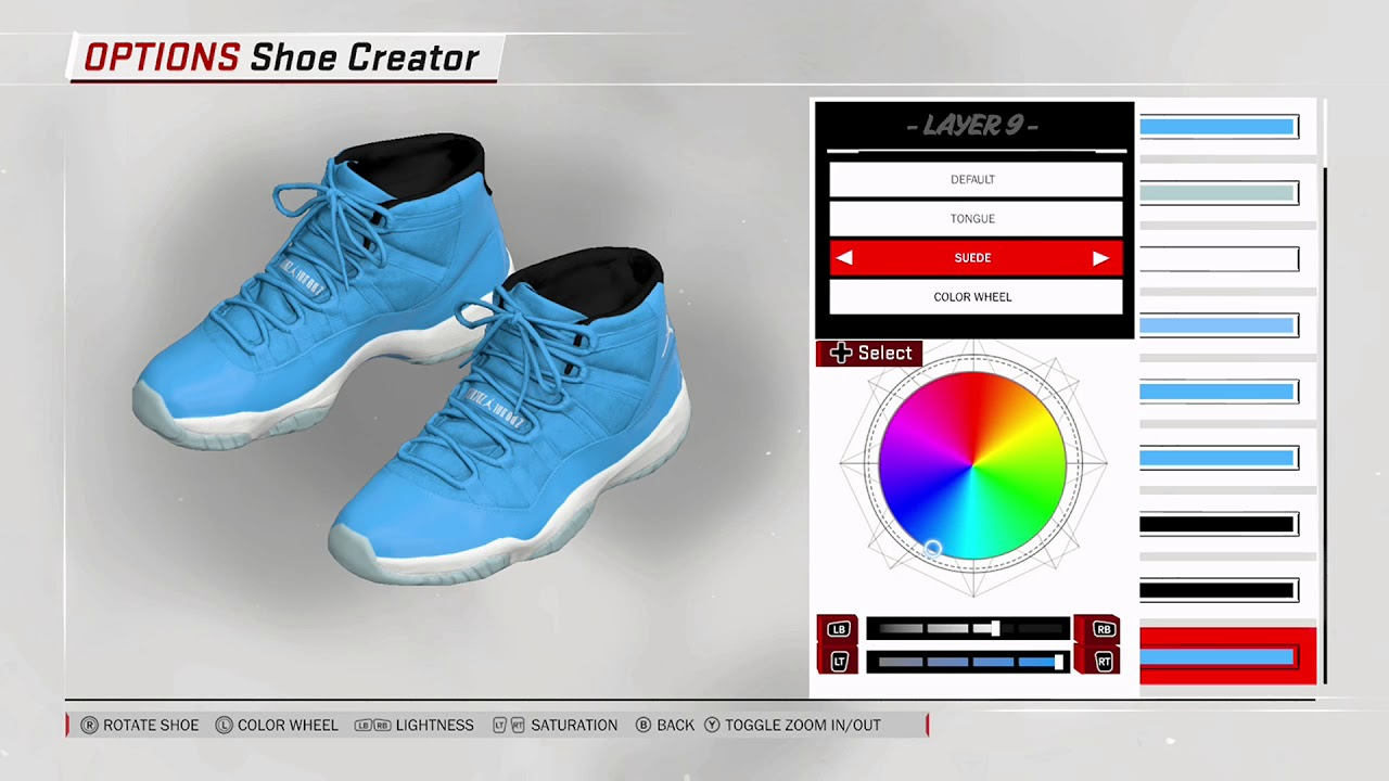 NBA 2K18 Shoe Creator - Air Jordan 11
