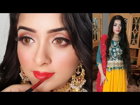 Make Your Eyes Look Bigger With Eid Makeup Mehndi Mayon Look Youtube Height increase drinks with khanum, sharp eye sight & increase brain power with these powerful drinks. eid makeup mehndi mayon look
