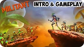 MilitAnt INTRO & Gameplay PC STEAM HD