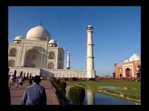 The Taj Mahal, India up close and personal