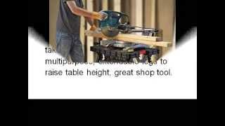 Adjustable Leg Folding Work Table Keter 217679