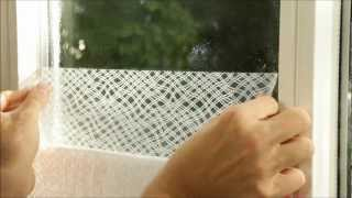 How to Install Static Window Film