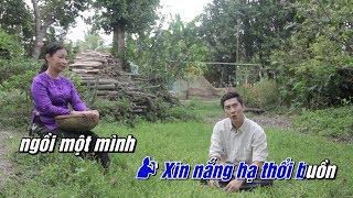 Karaoke | Còn Thương Rau Đắng Mọc Sau Hè - Nguyễn Khắc Huy, Diệu Thanh | Beat Chuẩn