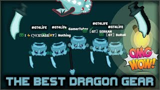 STARVE.IO - ULTRA EDIT VIDEOS #9 // THE BEST DRAGONGEAR ARMY!