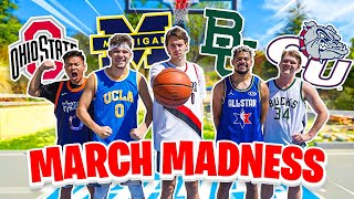 1 v 1 Basketball March Madness Tournament