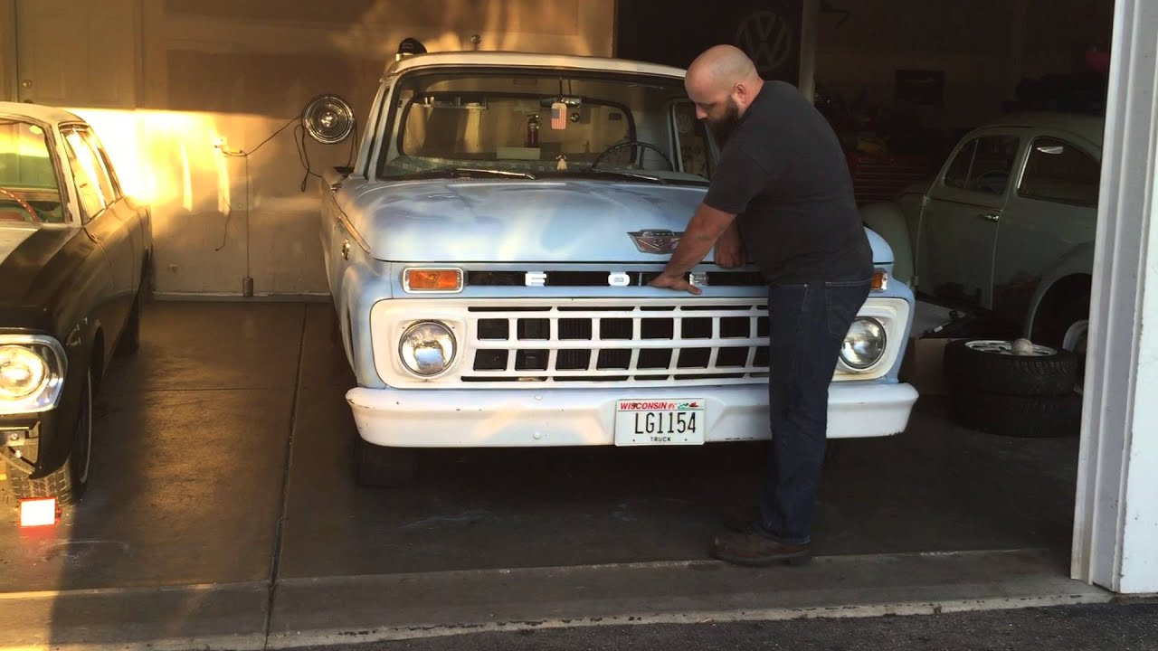Garage squad 1965 ford f100 youtube for Garage ford vaucluse