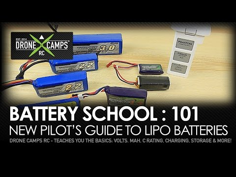 Drone Camps RC - Battery School 101 - UPDATED!