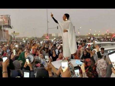 وانتصرت الكنداكة السودانية..صوت المرأة ثورة-  زوايا حادة