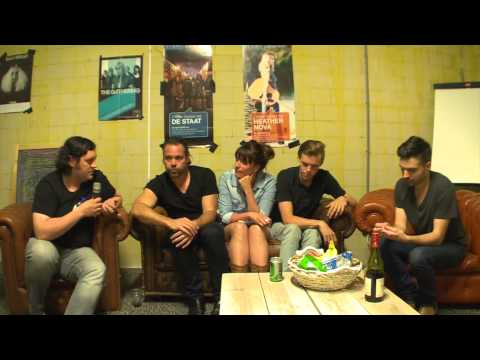 Te Boxer Rebellion interview for KX Radio Holland, July 2013