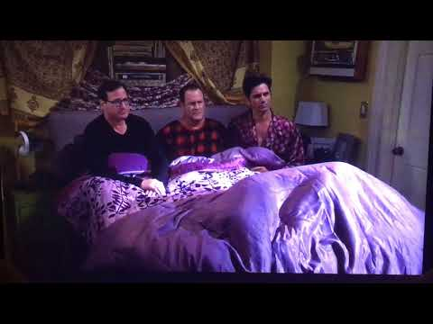 Fuller house: 4 men 1 bed