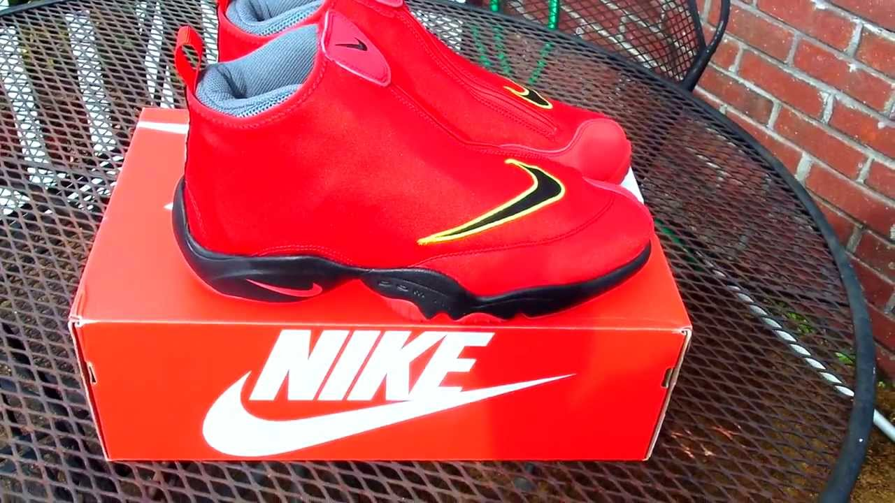 1e0b97e8a4b20 Nike Air Zoom Flight The Glove  Miami Heat  + on feet - YouTube