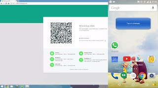 How to use Whatsapp on pc using Whatsapp Web!