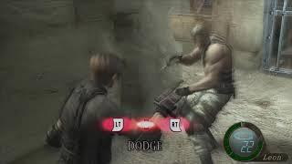 Resident Evil 4 Ultimate HD Edition   Walkthrough Part 17   Krauser Boss Fight 4K 60FPS
