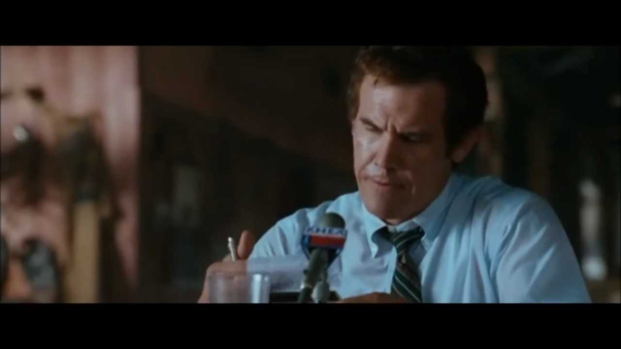 """George Bush debates with Kent Hance. Scene from Oliver Stone's 2008 film """"W."""""""