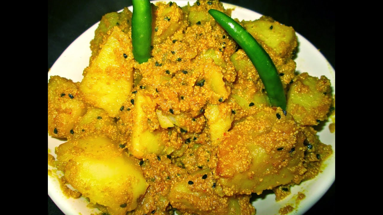Aloo postobengali potato recipe with poppy seed youtube forumfinder Image collections