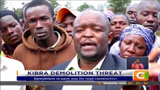 Government suspends eviction plans in Kibra